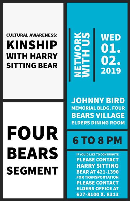 Four Bears Segment Cultural Awareness Kinship with Harry Sitting Bear Jan 2 2019.jpg