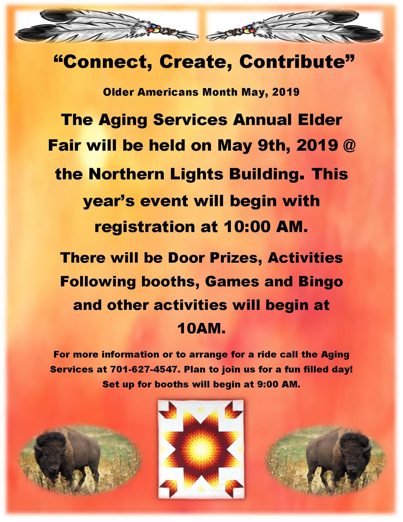 Connect Create Contribute Annual Elder Fair 2019.jpg