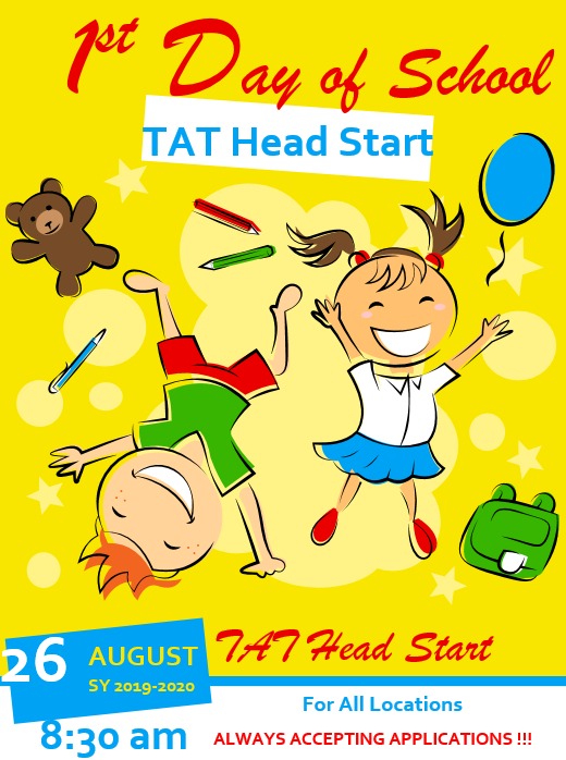 TAT Head Start 1st Day of School.png
