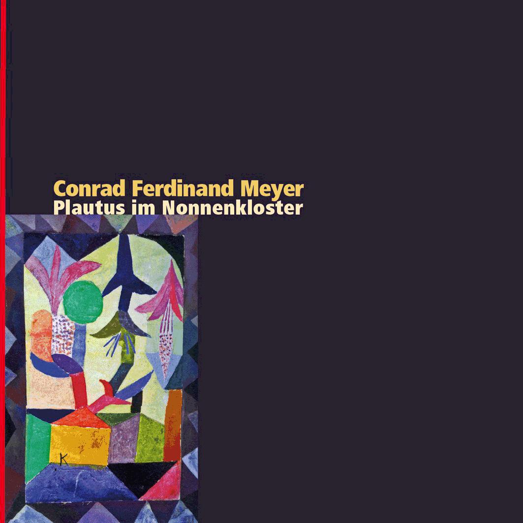 Cover zu Meyer «Plautus im Nonnenkloster», Sinus Verlag