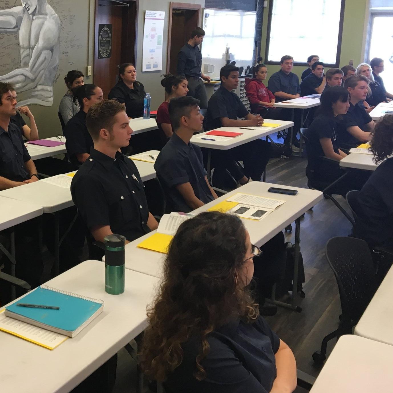 Defib Academy Class of Summer 2019 Orientation