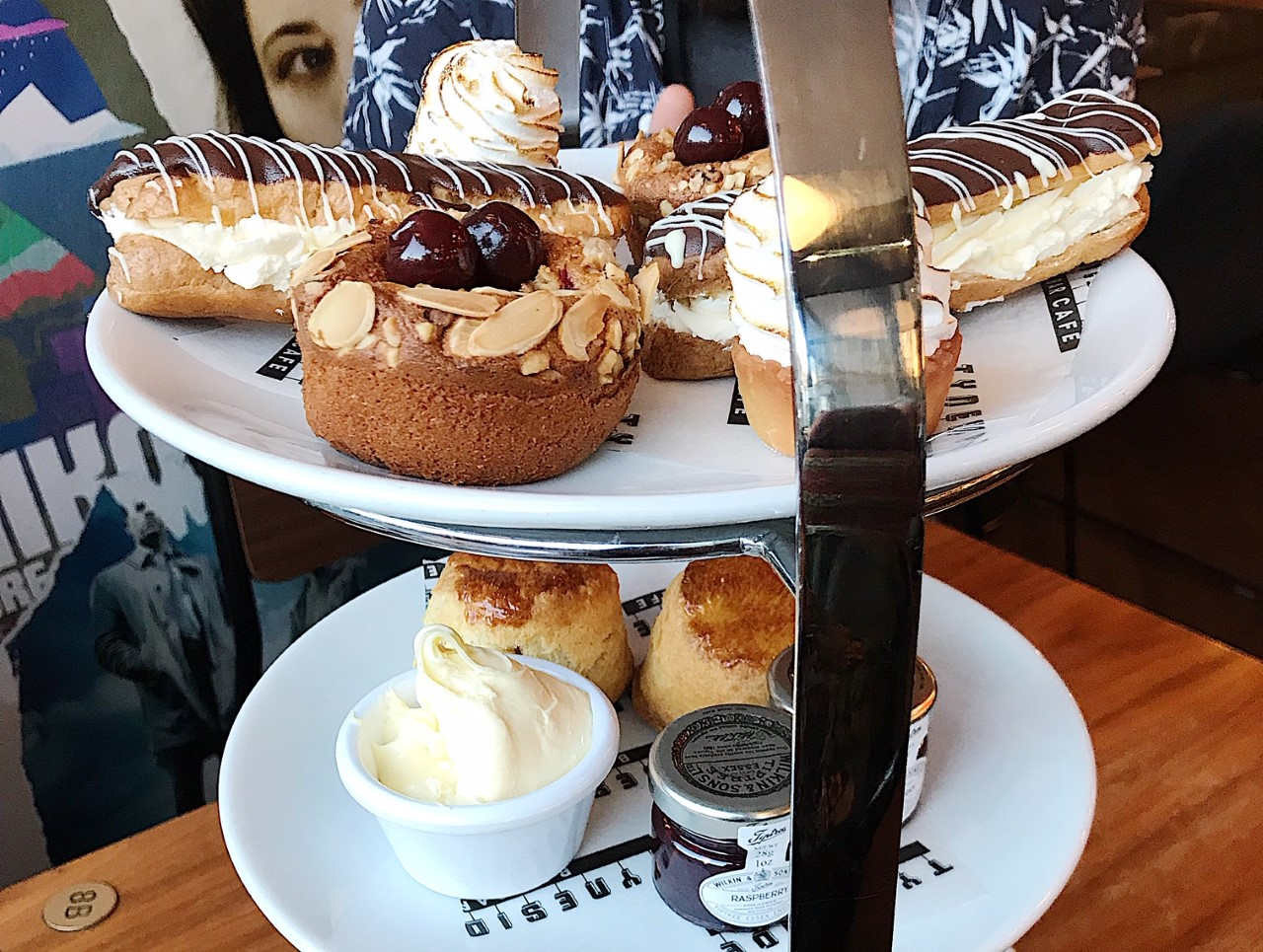 A selection of sweet treats at Tyneside Bar Café