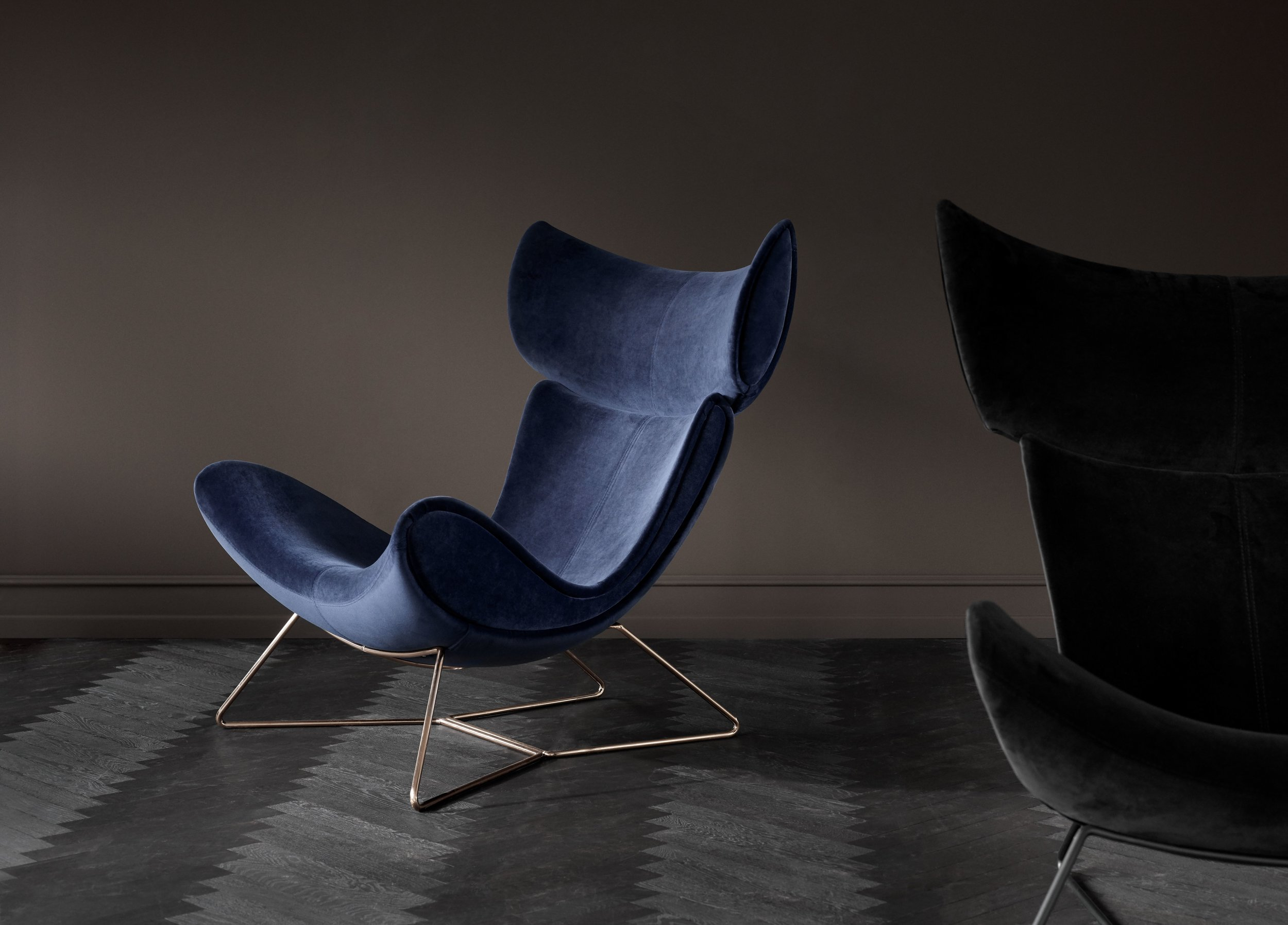 Why have a boring armchair when you can have an Imola? Photograph  ©  BoConcept