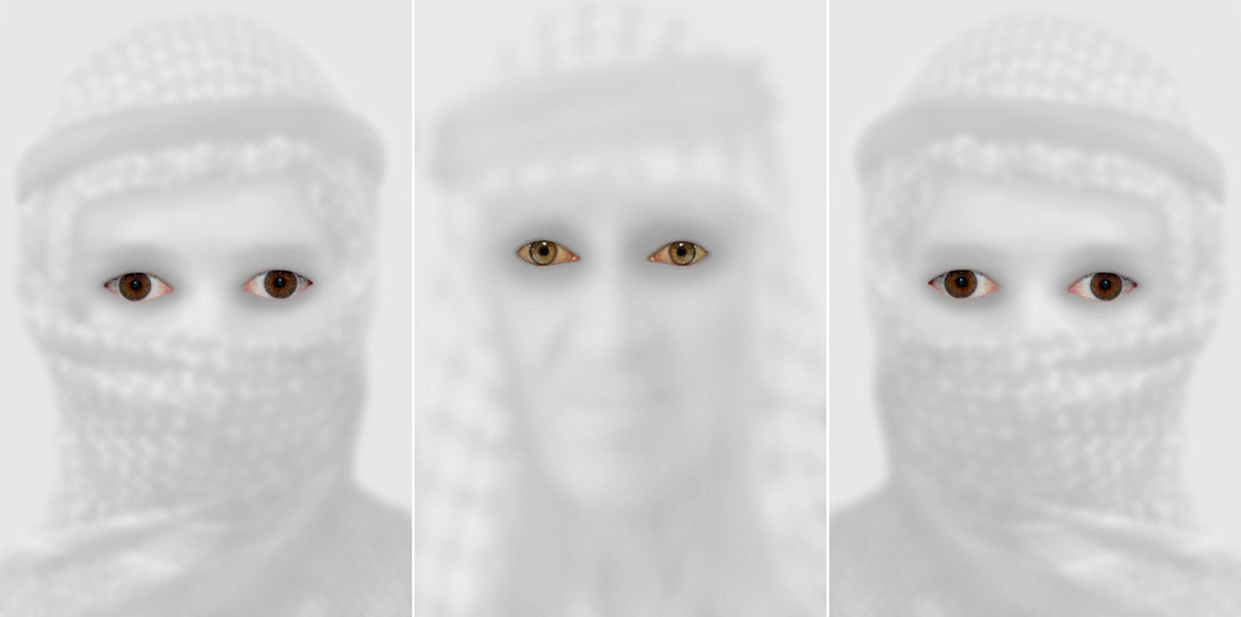 HALIM AL KARIM Witness From Baghdad 1, h 190 cm X w 390 cm(Triptych), Photograph Lambda Print,2008, Edition 1 of 3 + 2AP13.jpg