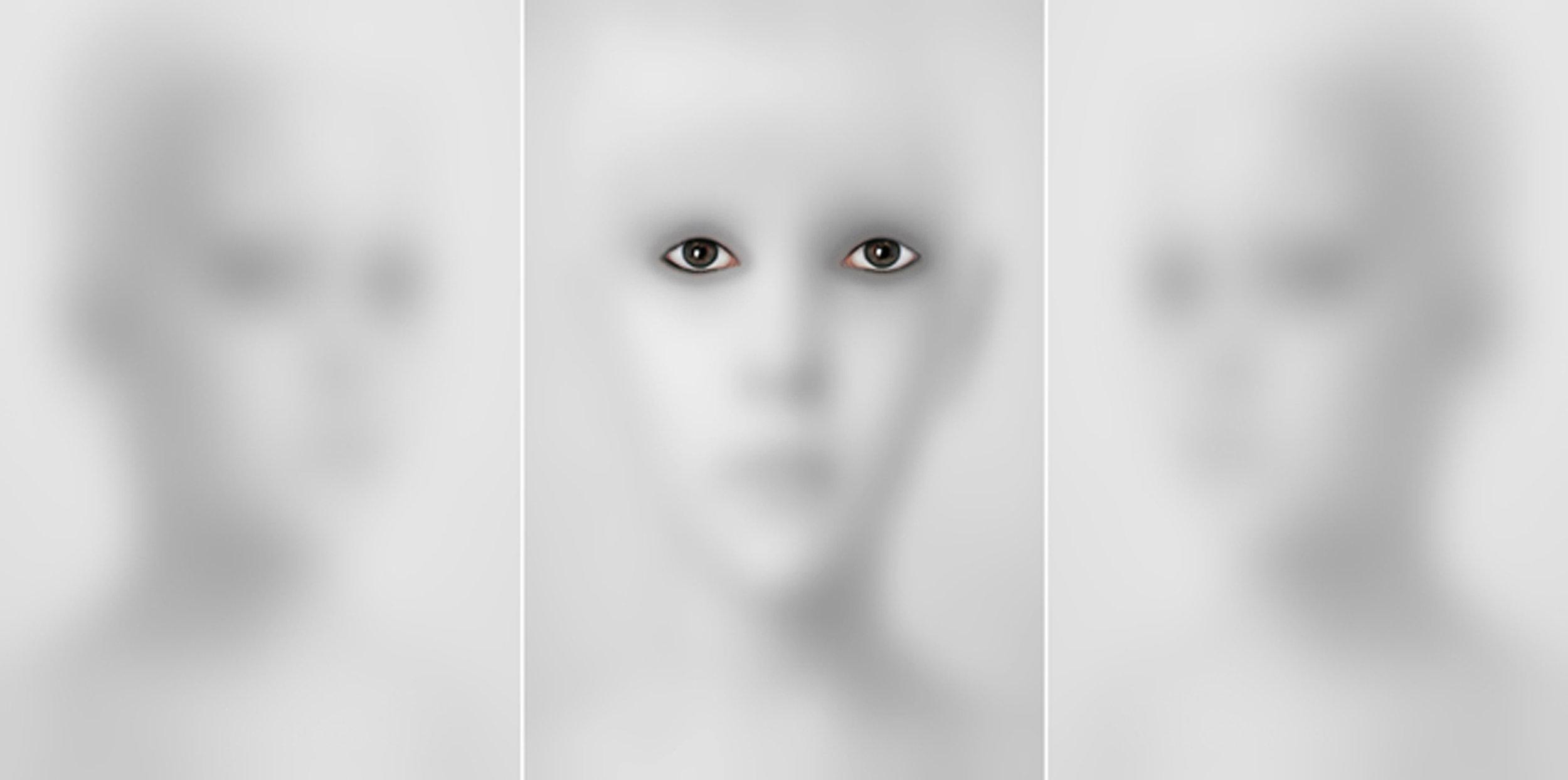 HALIM AL KARIM UNTITLED 1. from WITNESS PORTRAIT series. h 190 x w 390 cm ( tribtych), Photograph Lambda Print 2004, Edition 1 of 3 +2 AP.jpg