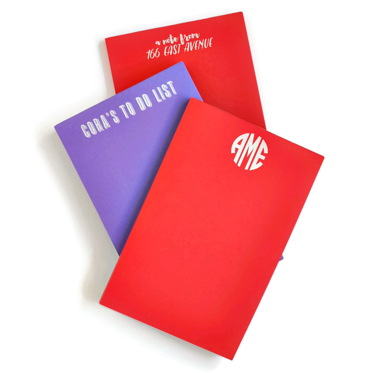 Large Primary Color Notepad starting from $26