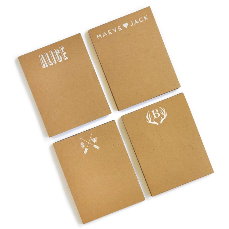 Small Kraft Notepad starting from $18