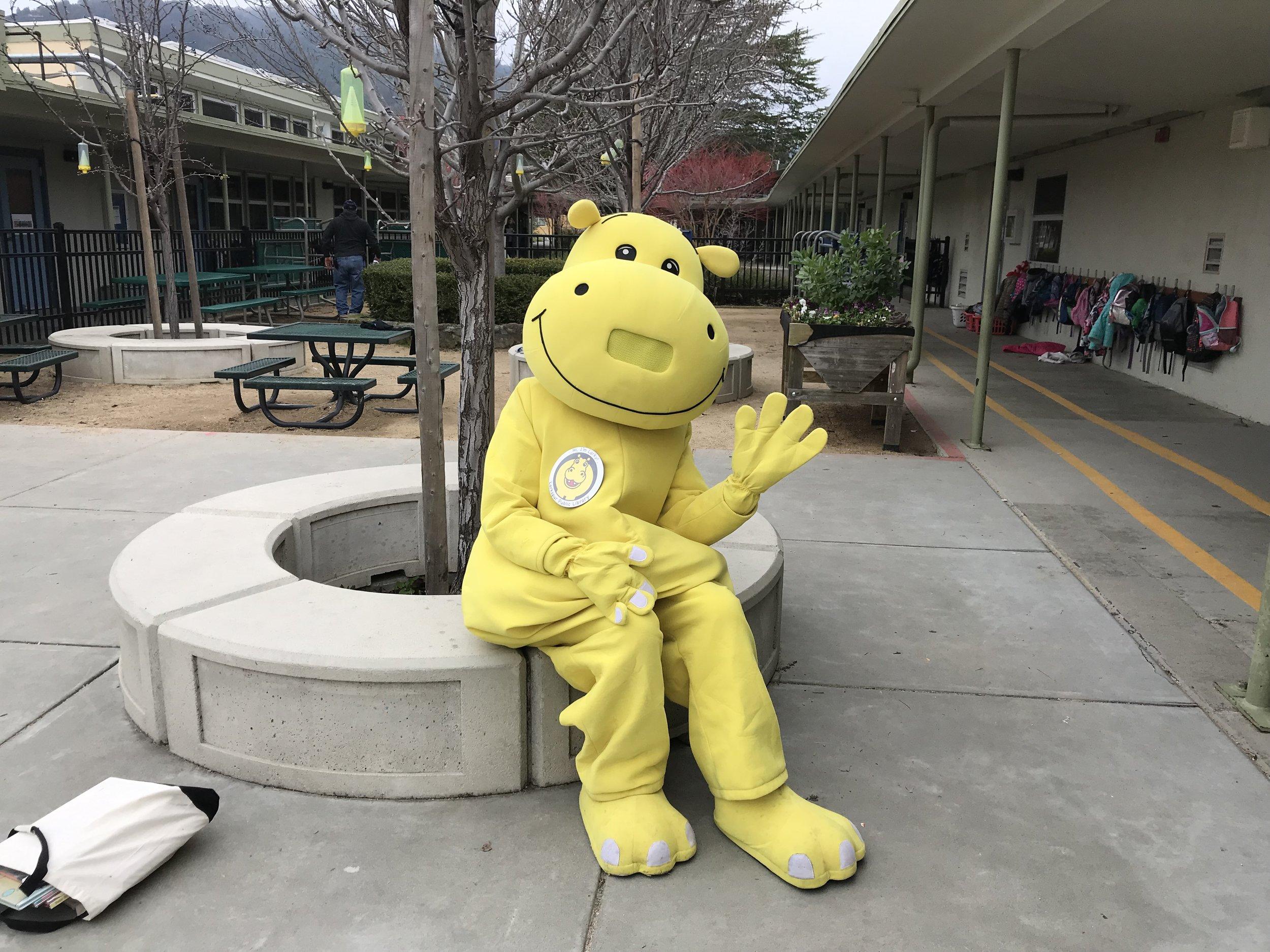 Visit to Neil Cummins Elementary School - January 2019
