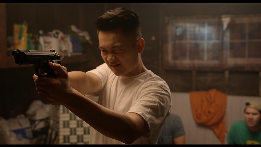 Still from Marc Chung Protects His Address, official selection for College Narrative.