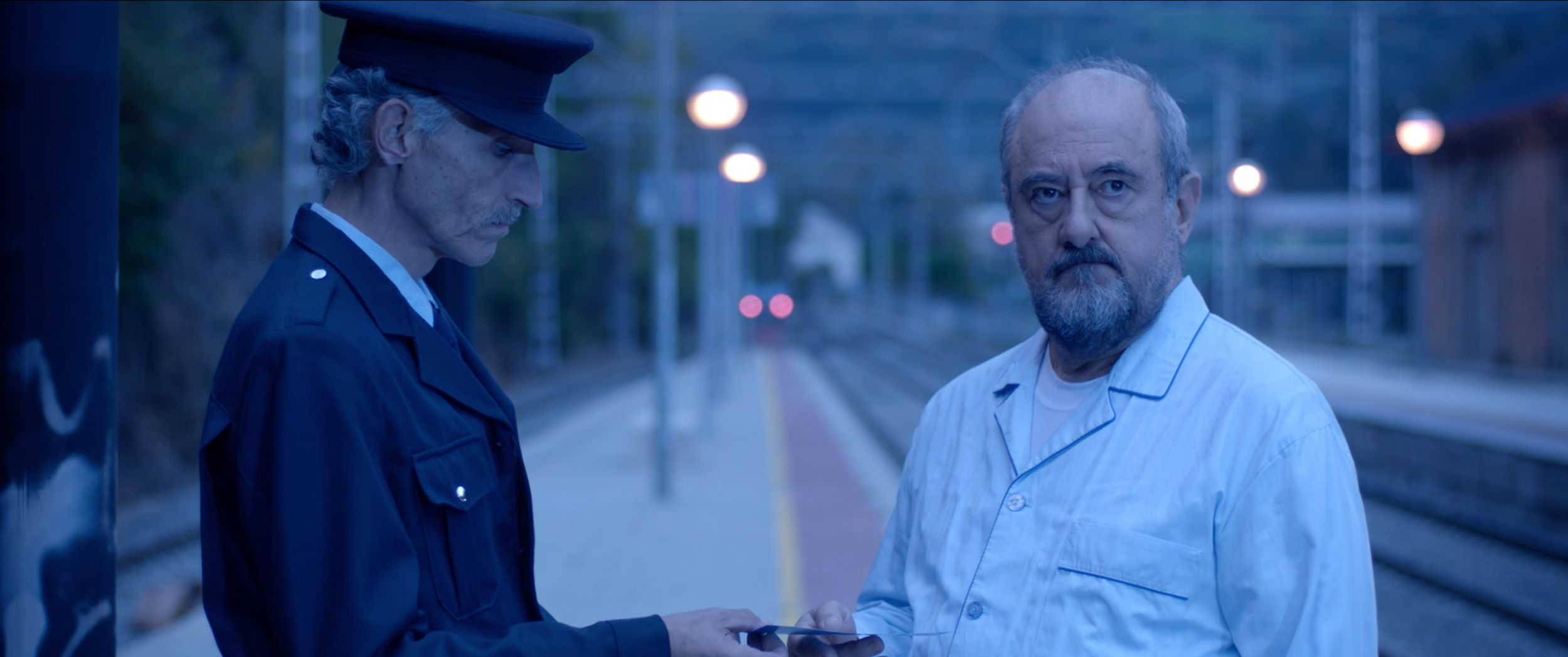 Still from La Estación, official selection for College Narrative.