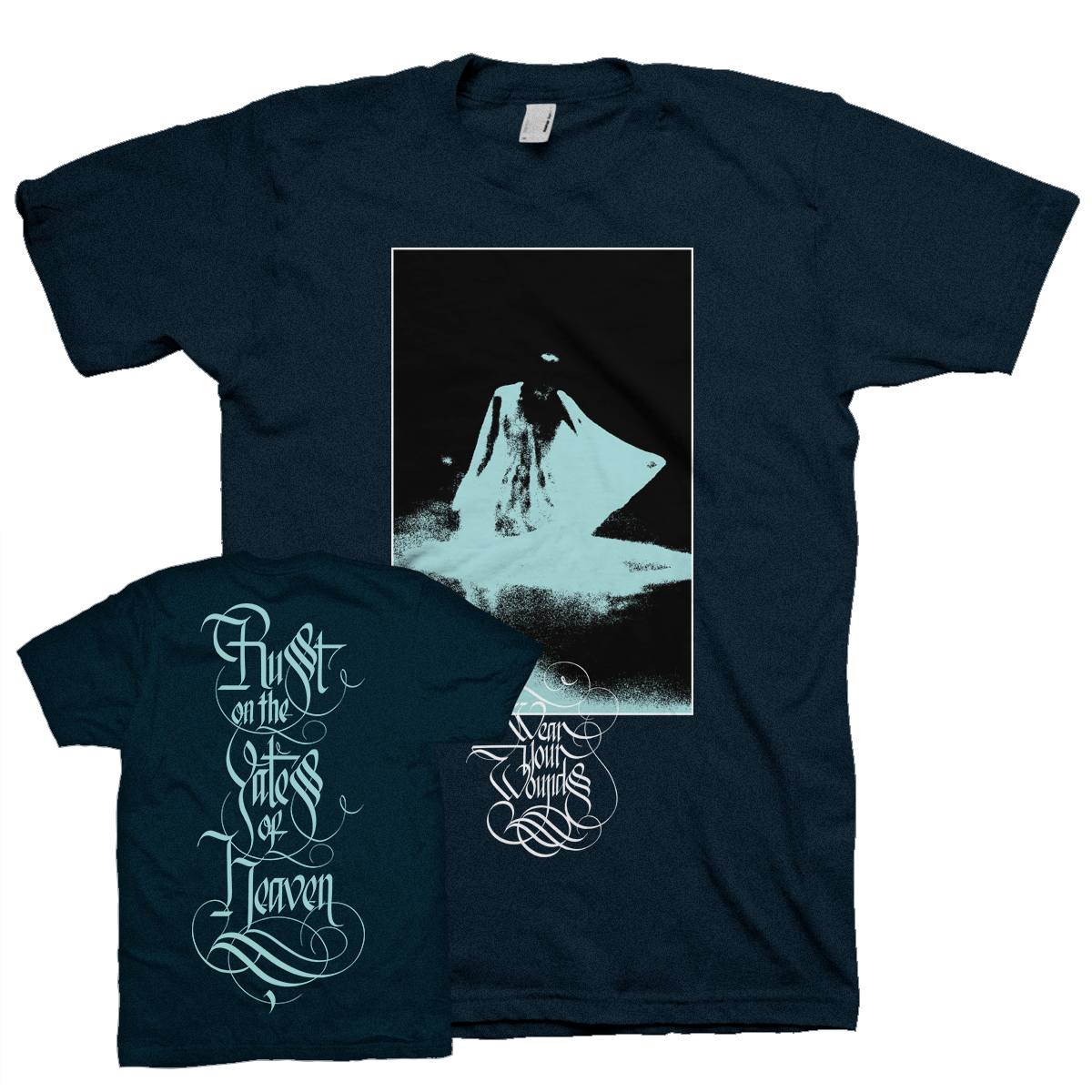 """Apparition Front"" Navy T-Shirt"
