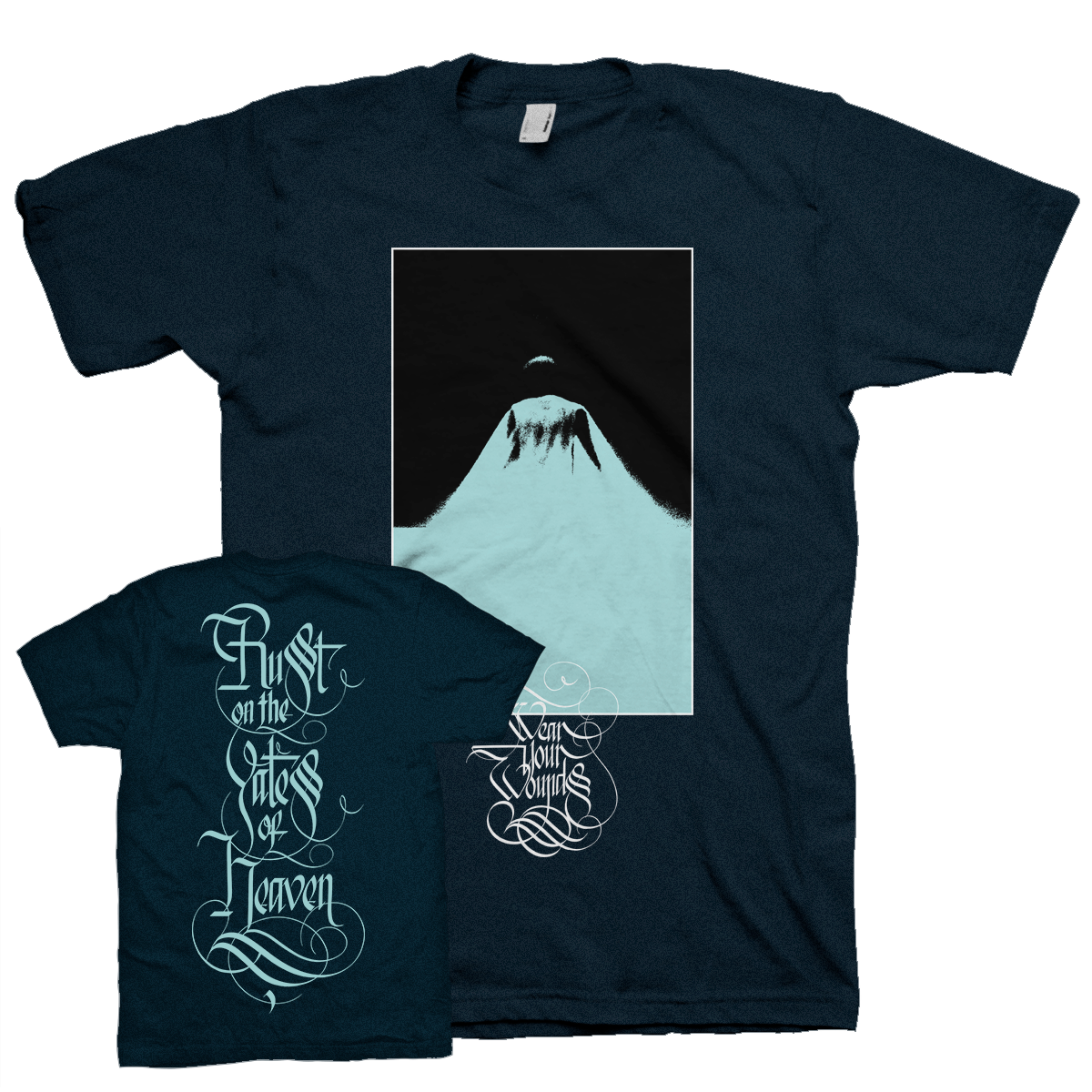 """Apparition Back"" Navy T-Shirt"