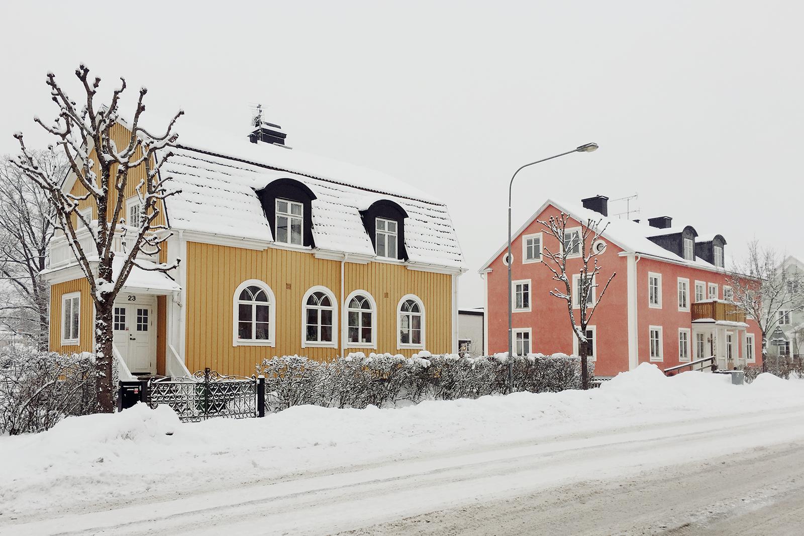 Det har kanskje vært Sibir-kulde, men Eksjöer like søt som alltid!