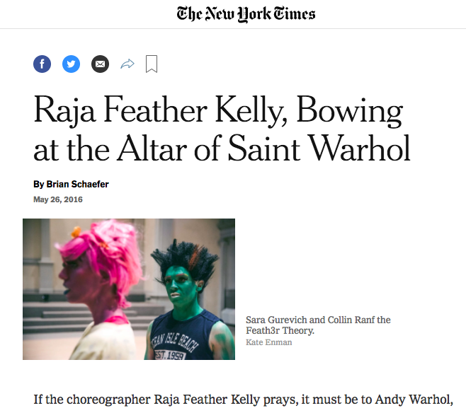 The New York Times, 2016