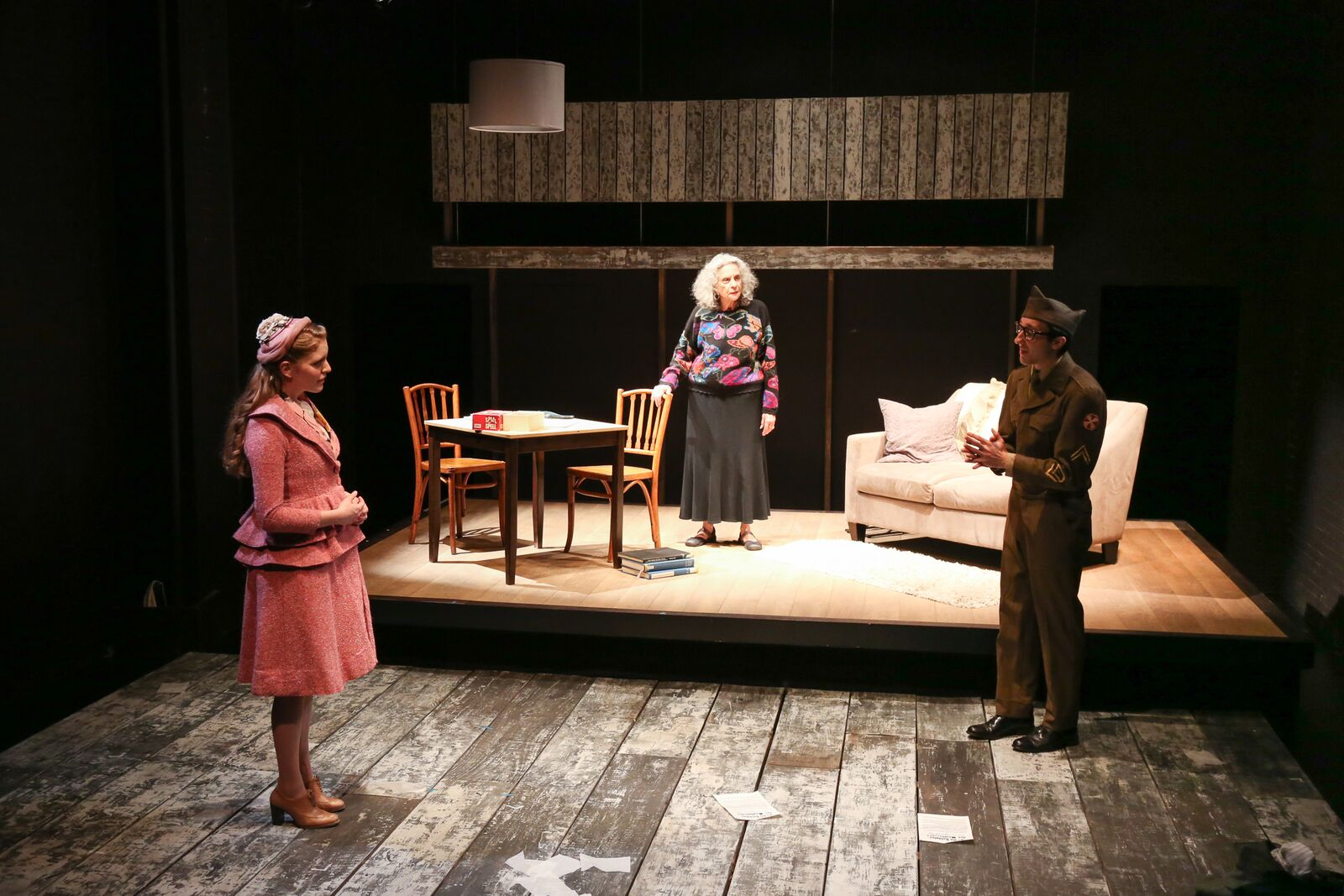 Letters to Sala , by Arlene Hutton at The Barrow Group. Featuring Britain Seibert & Anita Keal.