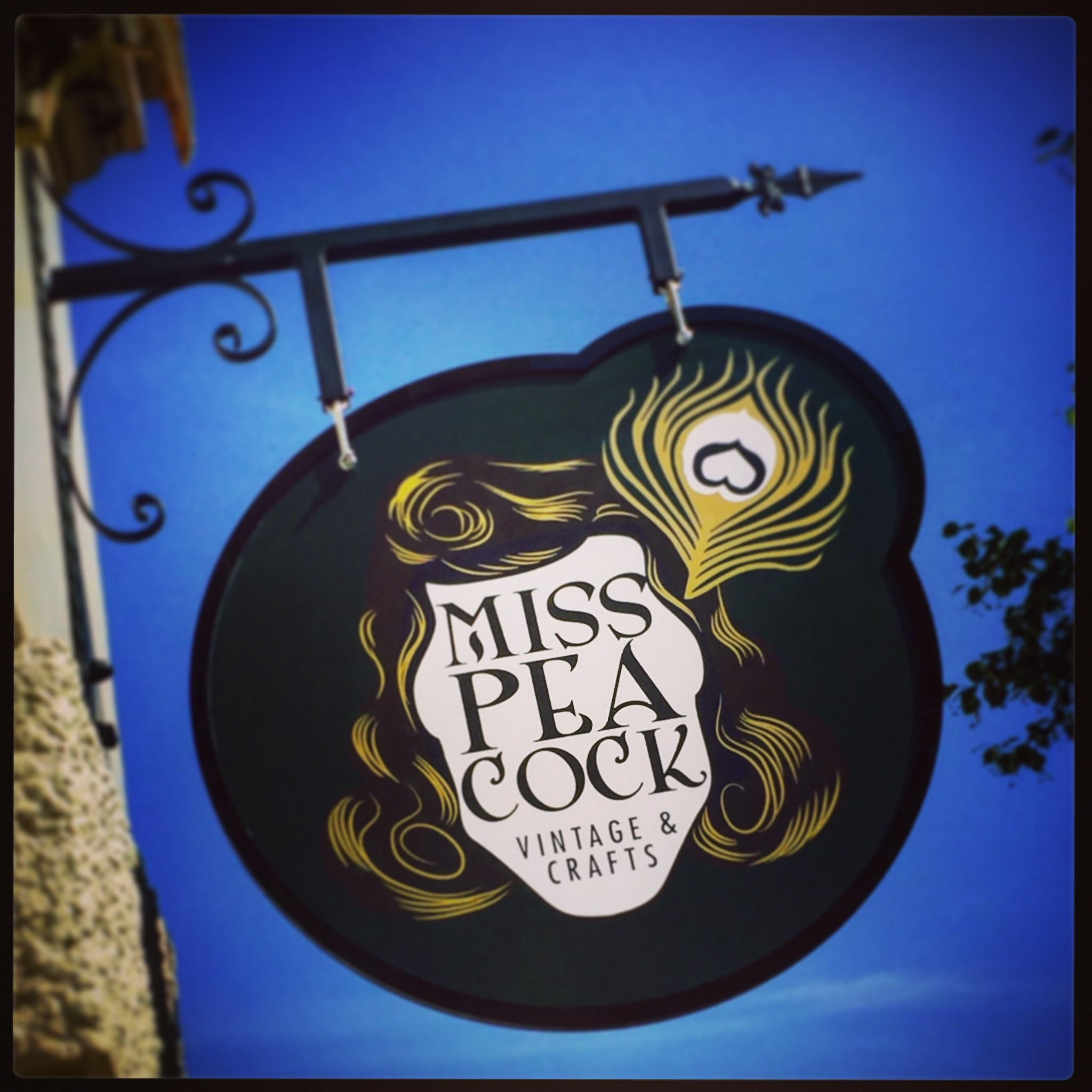 Miss Peacock Logo