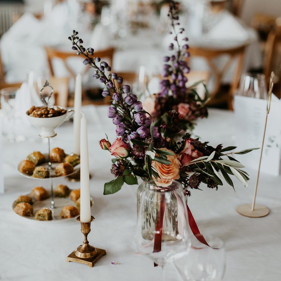 Hochzeitsdekoration Etagere