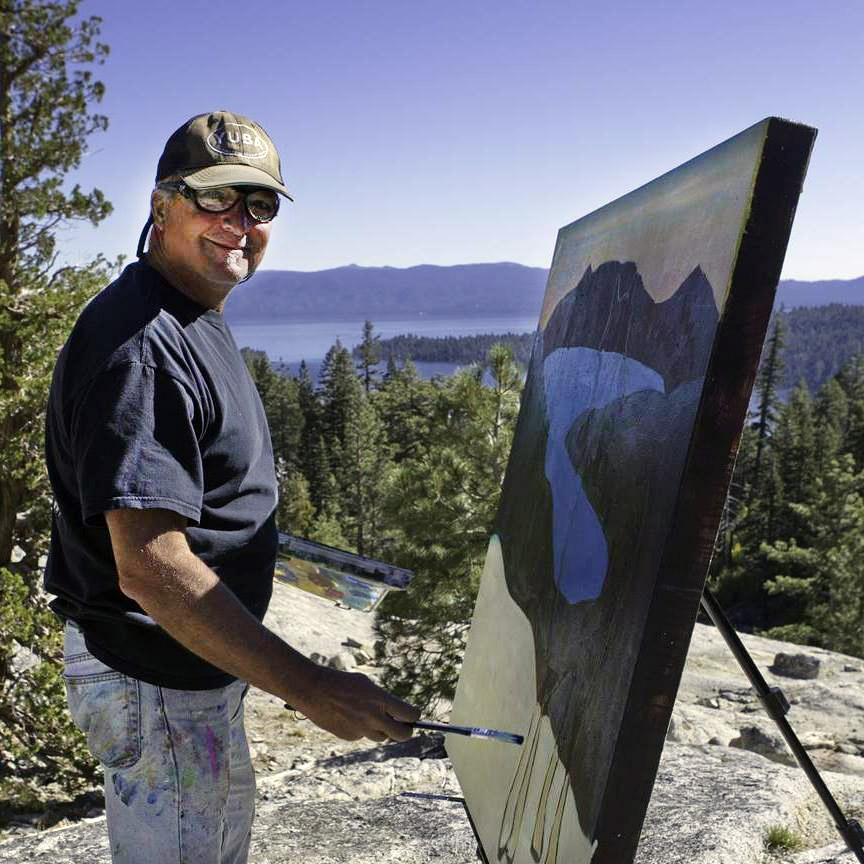 Jude Bischoff in Tahoe