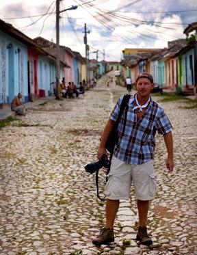 Dan Warfield in Cuba