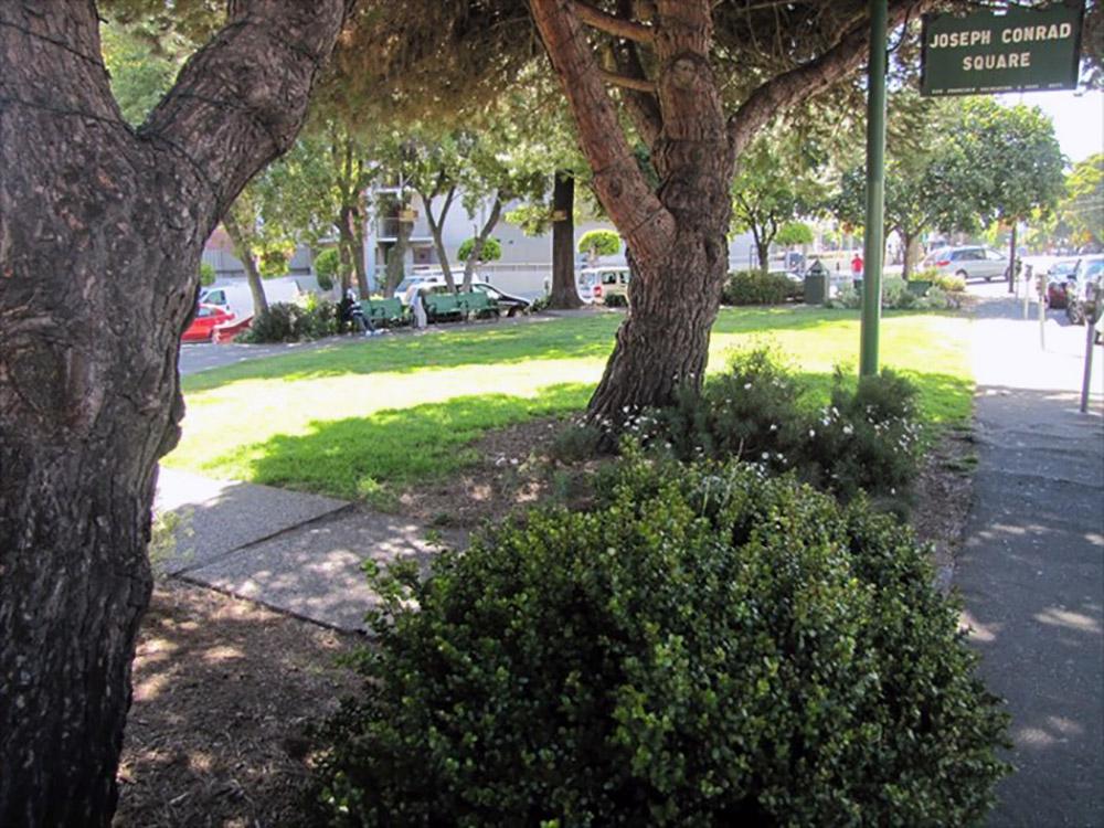Joseph Conrad Park  Columbus Avenue & Beach Street
