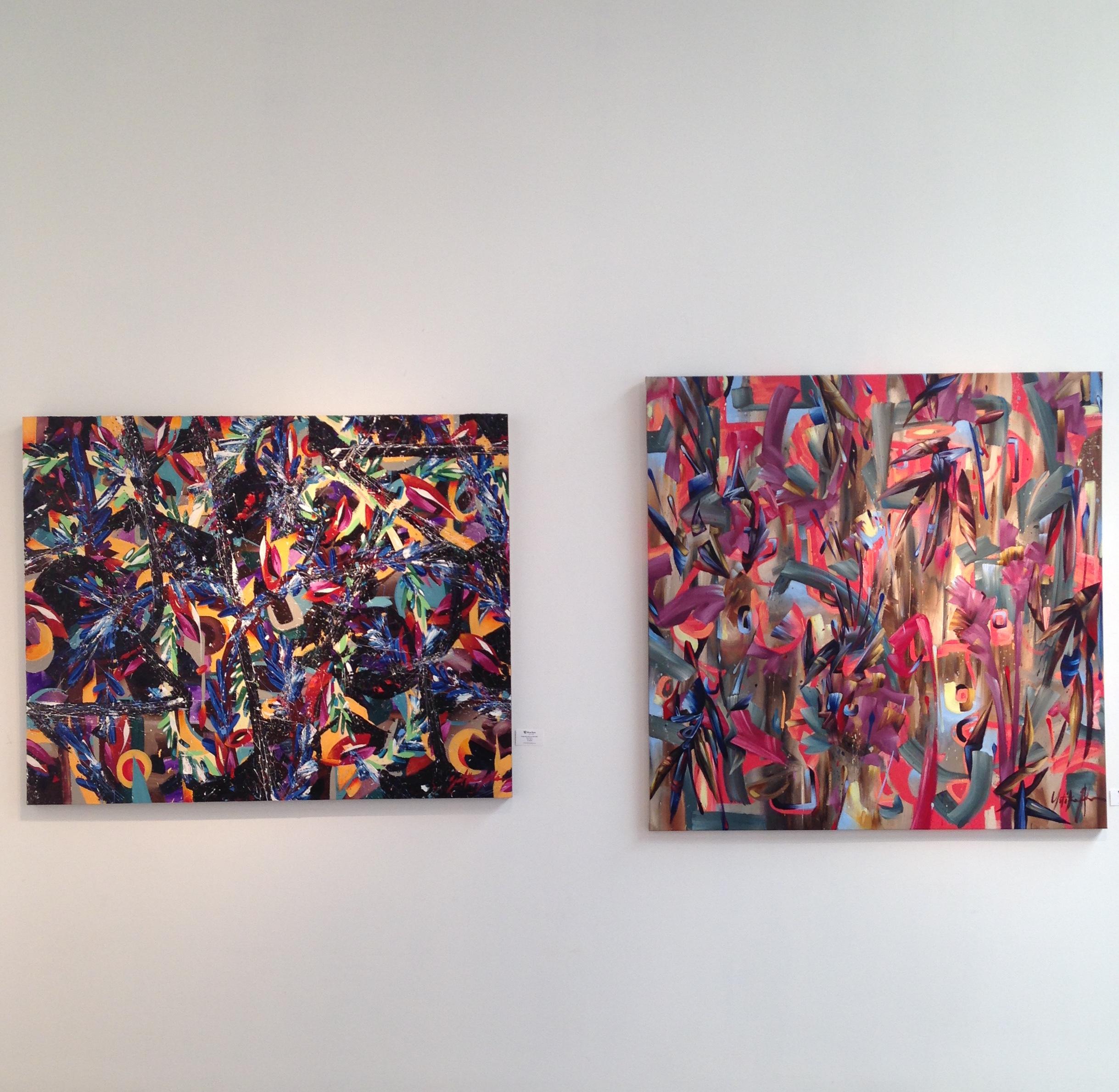 BlueRain Gallery, August Exhibition 2016