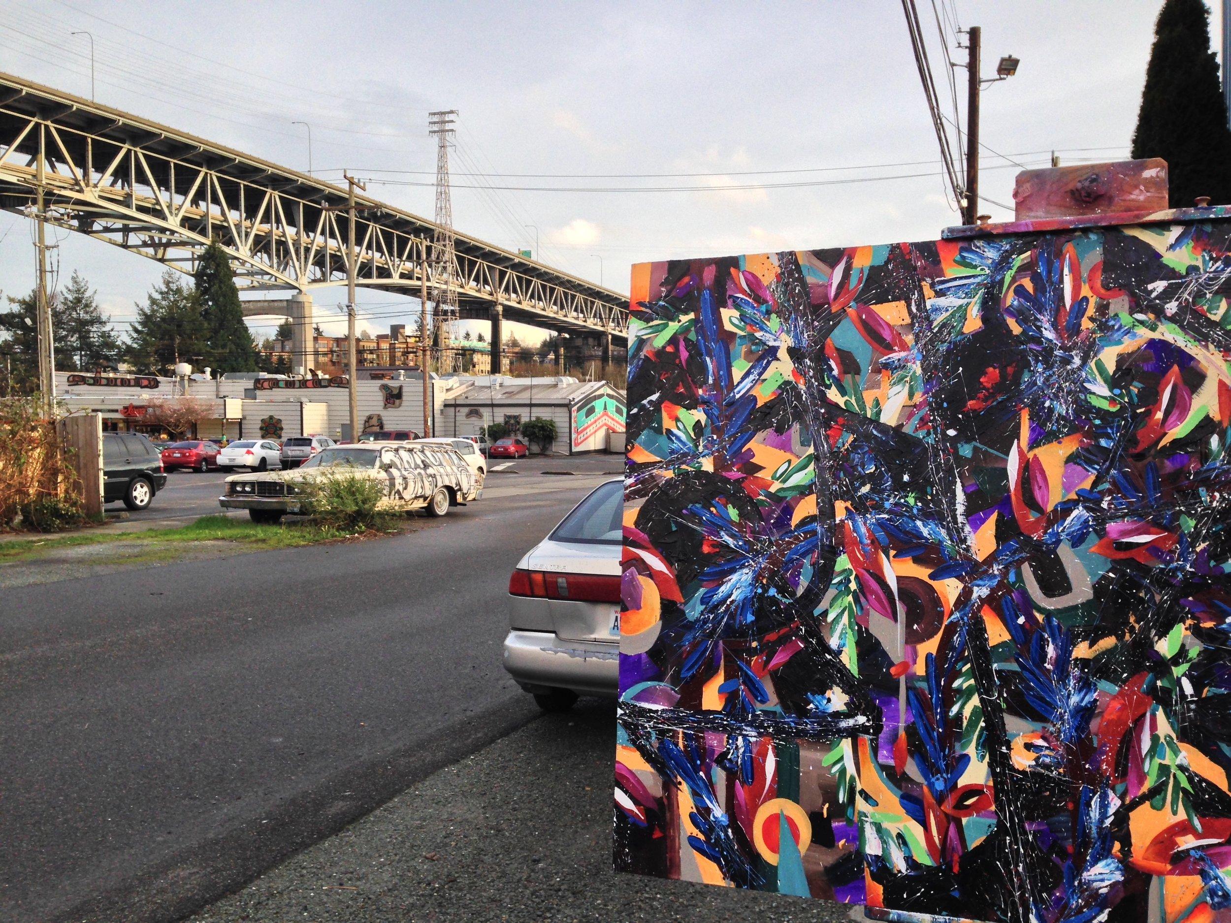 Wallingford Studio, Seattle, WA 2015-16