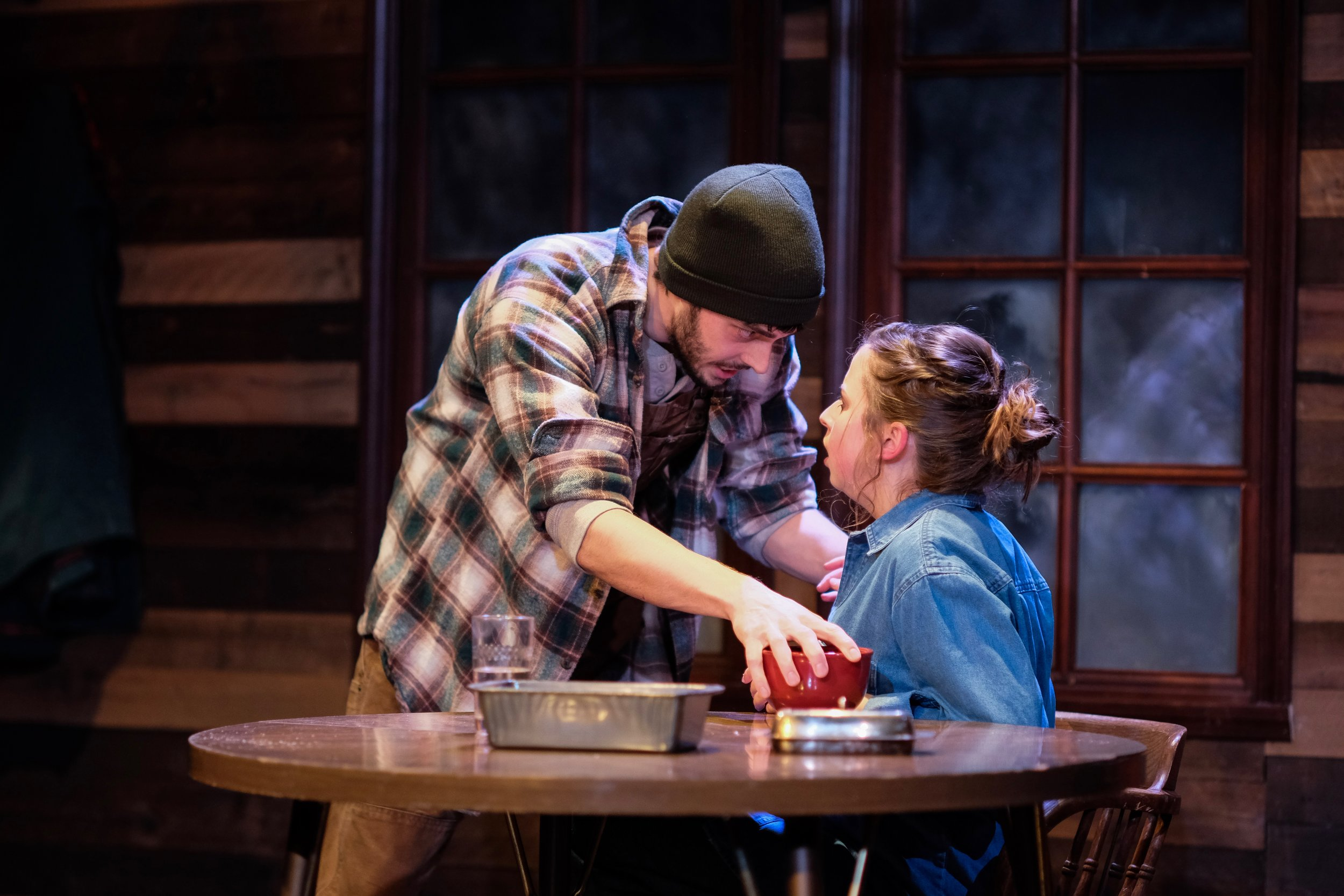 Brilliant Traces the Play by Cindy Lou Johnson Starring Blake Merriman and Alyssa May Gold I think you need to eat.jpg