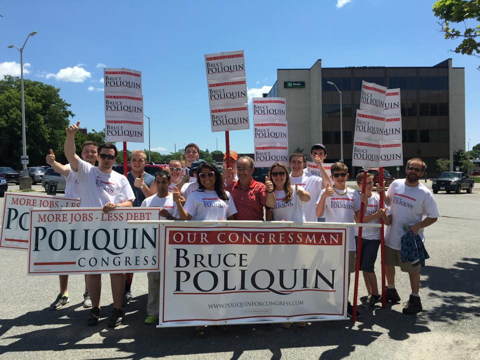 Join Team Poliquin! - Get involved in Bruce's grassroots army across the 2nd Congressional District.