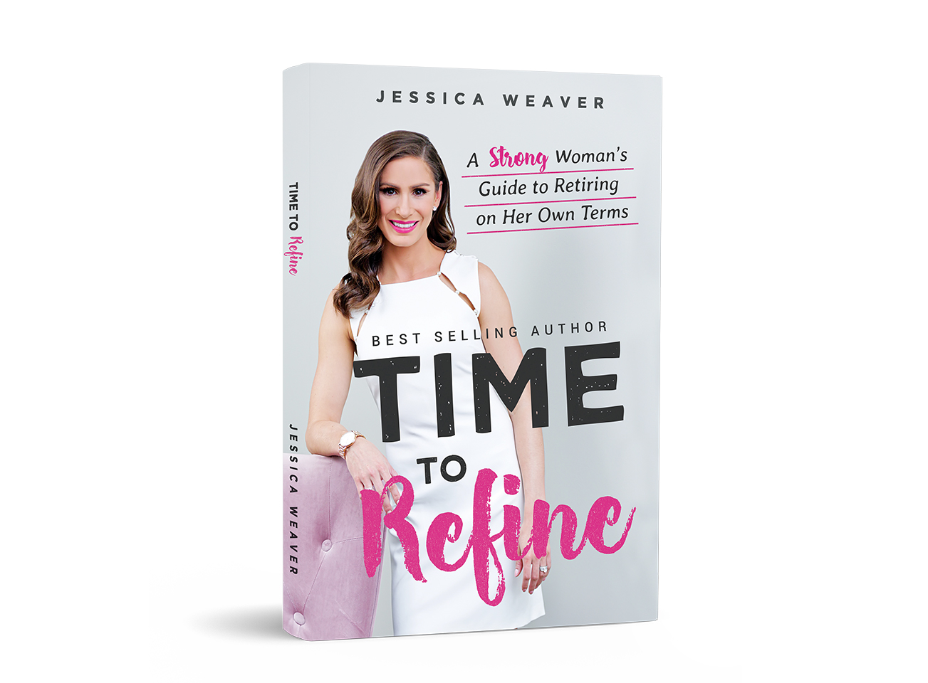 "- Here's what people are saying about TIME to REFINE:""She's NOT your father's advisor, and that's a GOOD thing!""""Most financial guidance books I've read either (A) put me to sleep; (B) talk down to me, or (C) offer no real practical ideas. Not the case with Jessica's book (it's her 2nd by the way, if you haven't yet read Strong Women, Stronger Assets, I suggest you do). She writes in an upbeat, positive way, using real life examples that are easy to relate to. Jess provides solid steps to take now and in the future, regardless of the age/stage of retirement planning you are in. Jess also addresses the important idea that our assets aren't all financial. Prepping for retirement includes other aspects of our lives, not just our Money. This is an easy read, with useful ideas. It will be a valuable part of your retirement/LIFE planning resources."" Leslie""LADIES FINALLY A RETIREMENT HANDBOOK TAILORED FOR US!""""I have been looking for a book on planning for retirement that is easy to understand with steps that are easy to implement without being too general. Jessica's book is just what's I have been looking for!!! I highly recommend it to all the ladies out there who are looking to plan for the future!! The book was charming and extremely informative! This is a MUST READ!"" lAUREN"