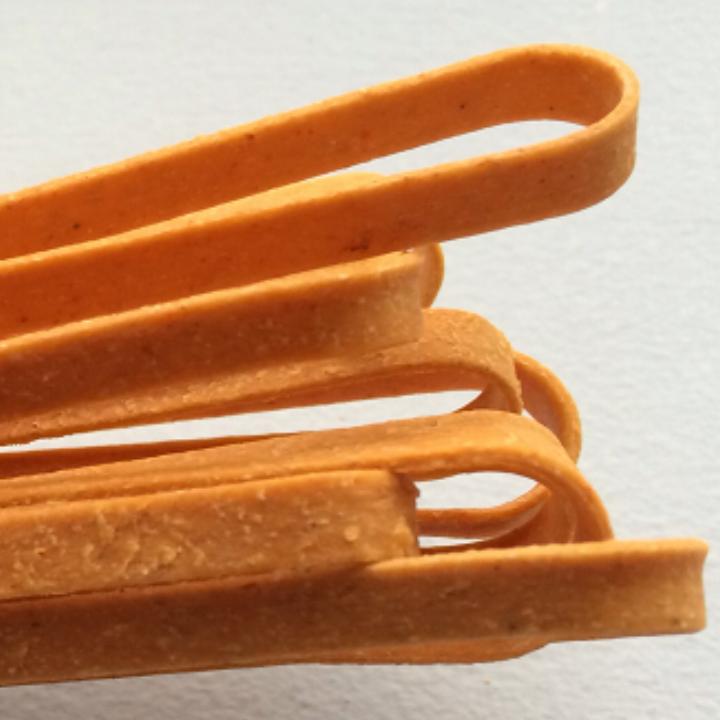 "Chipotle    Fettuccine    17"" - 5mm wide -1.2mm thick / 10 lb. Bulk Case"
