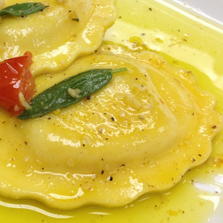 Cheese Filled Ravioli