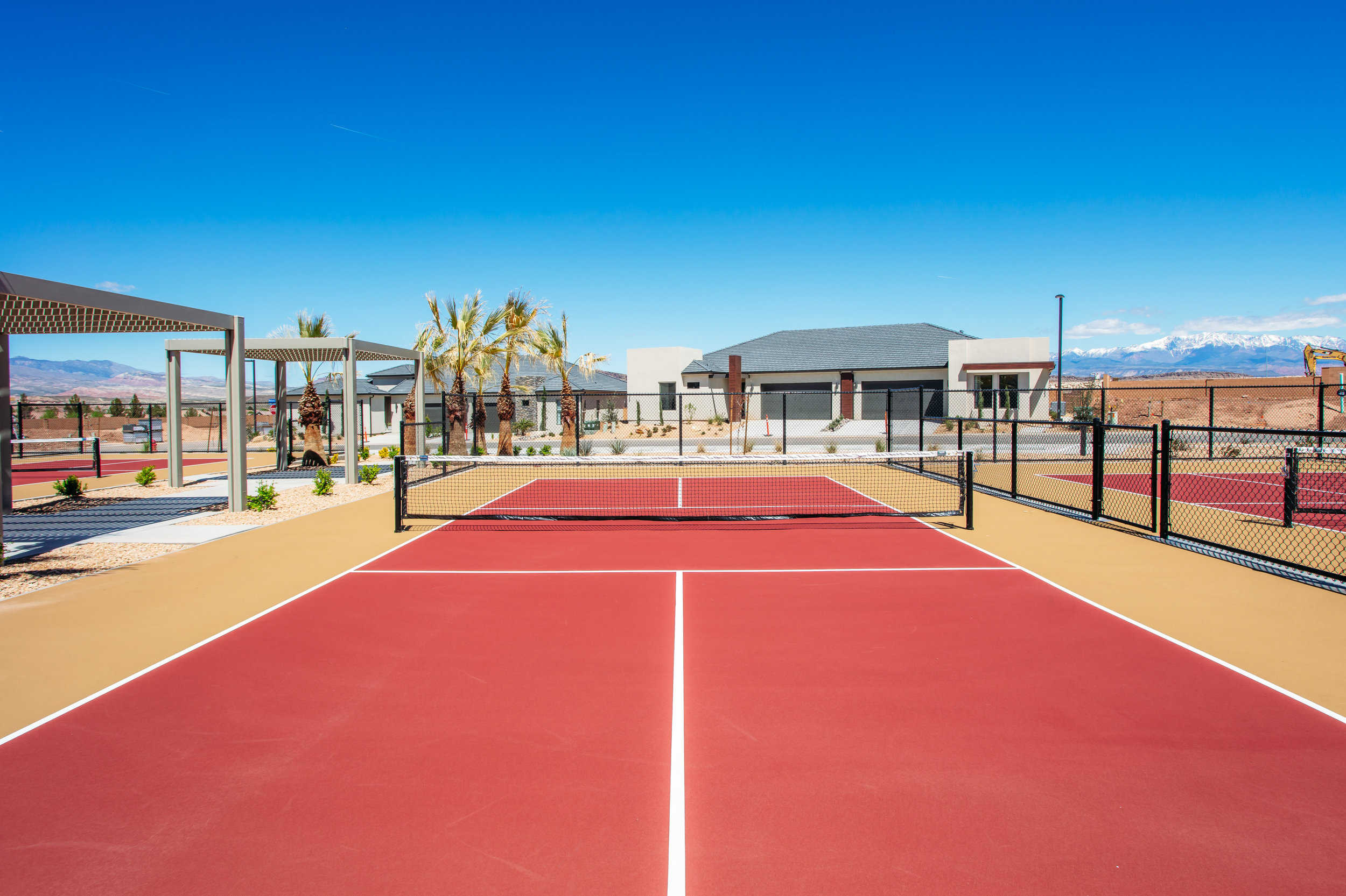 4 Pickleball Courts