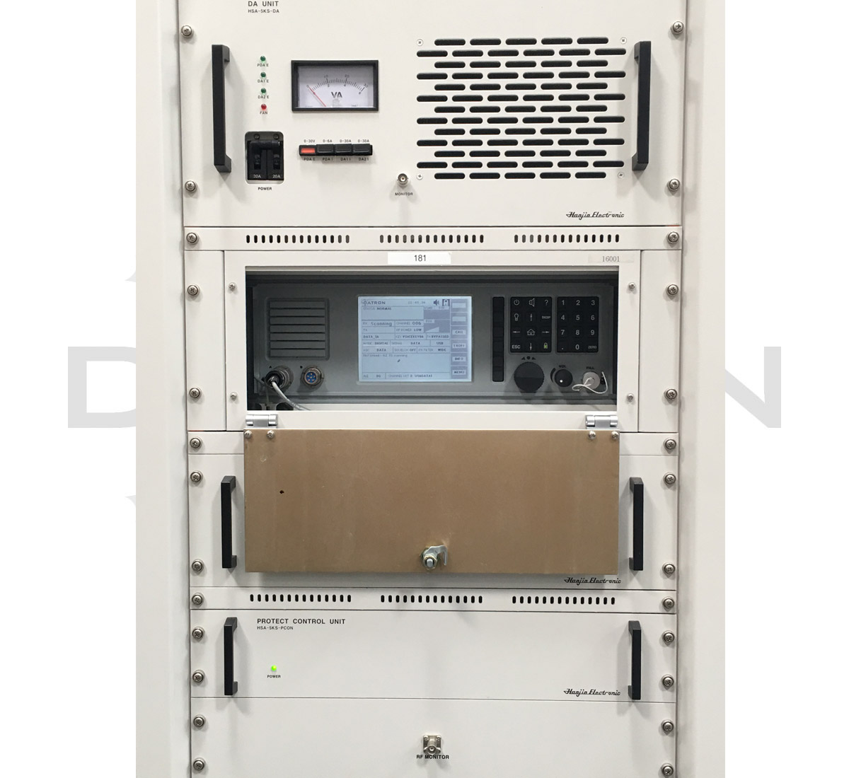 FEATURES - • RT7700H Transceiver• PPS7700 Pre/Post Selector• UPF7700 Power Supply•DTX5K (5kW) / DTX10K (10kW)