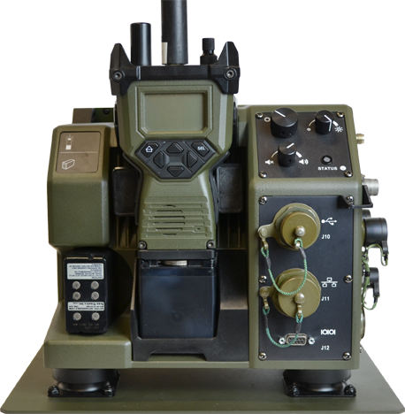 FEATURES - • Rugged MIL-STD-810G mount and dock• Auto-detection of mounting and dismounting of radio• Built-in BITE with visual LED indicators• Power, Volume and Dimmer controls• RS232 (DE-9) and UST (Type A) interfaces• Input Voltage Range from +9 VDC to +36 VDC• Radio Battery Charger while in operation• Spare Battery Charger• Real