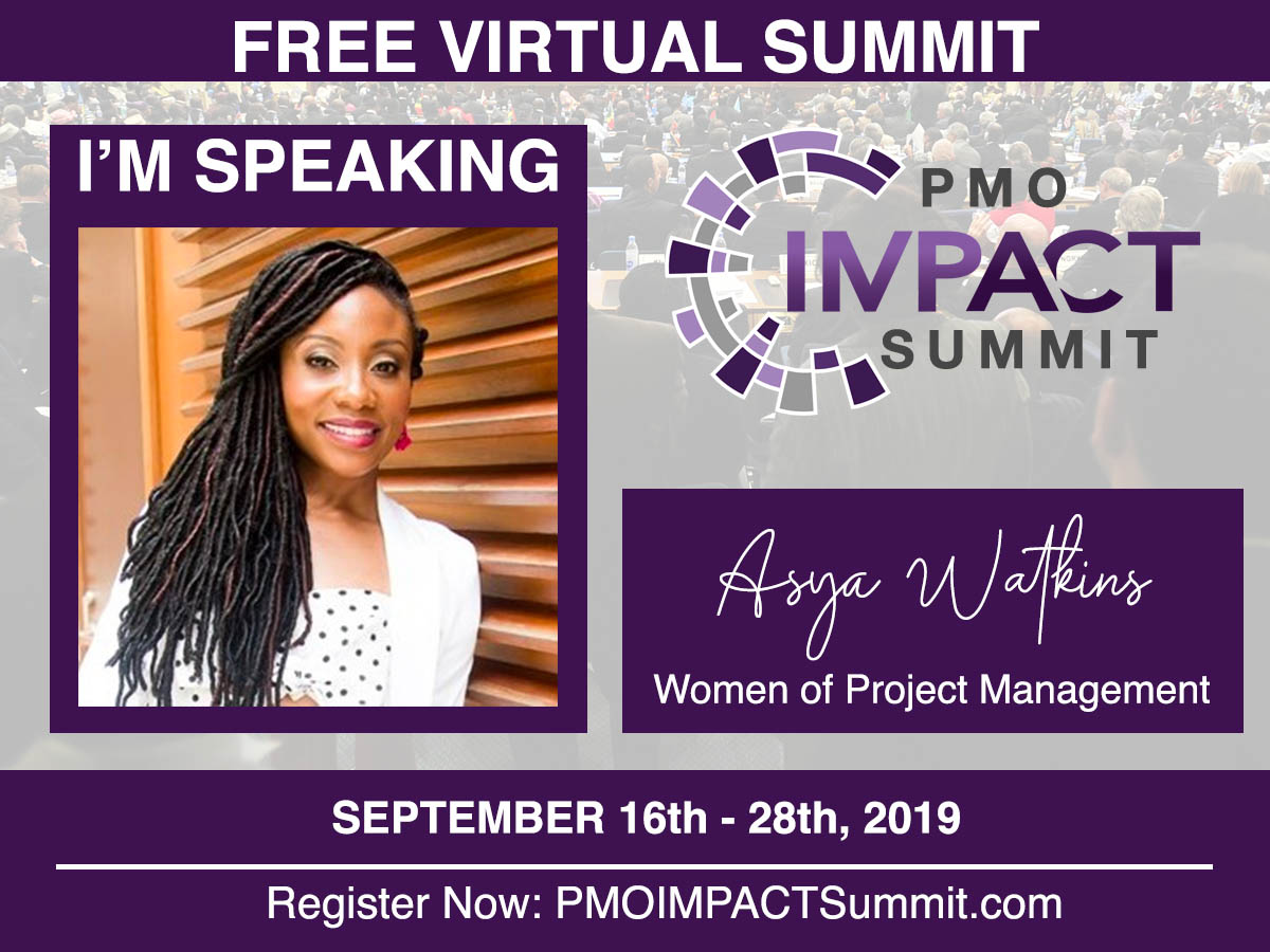 Asya Watkins, Free Virtual PMO Impact Summit