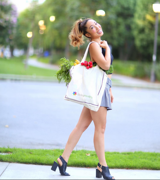 Cassey Ho, health junkie and founder of  Blogilates