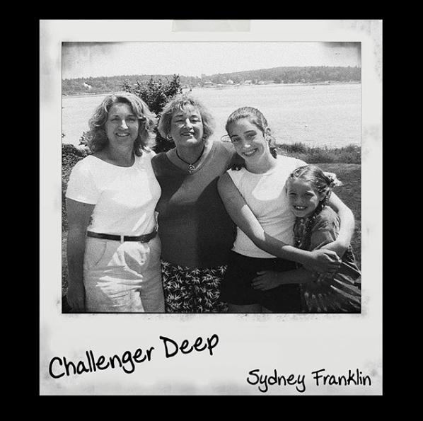 """Track art for Sydney Franklin's """"Challenger Deep"""""""