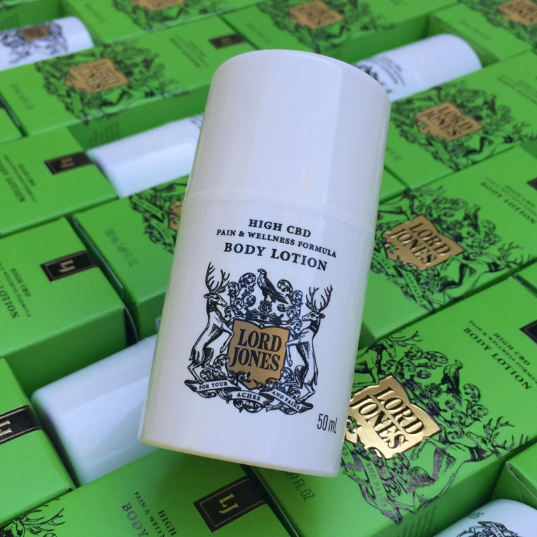 Lord Jones Pure CBD Pain & Wellness Formula Body Lotion, $50