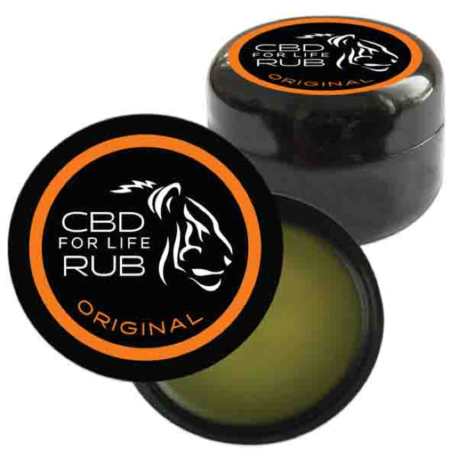 CBD For Life Rub, $25