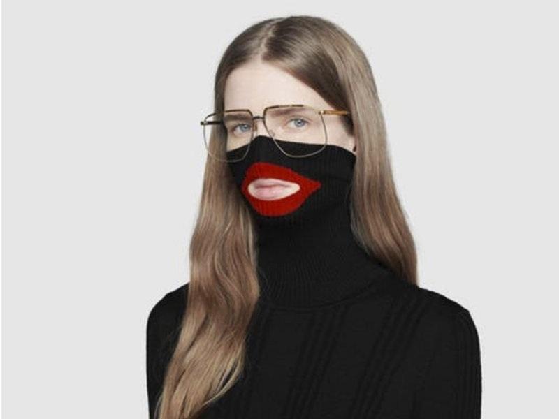 Gucci Blackface Balaclava