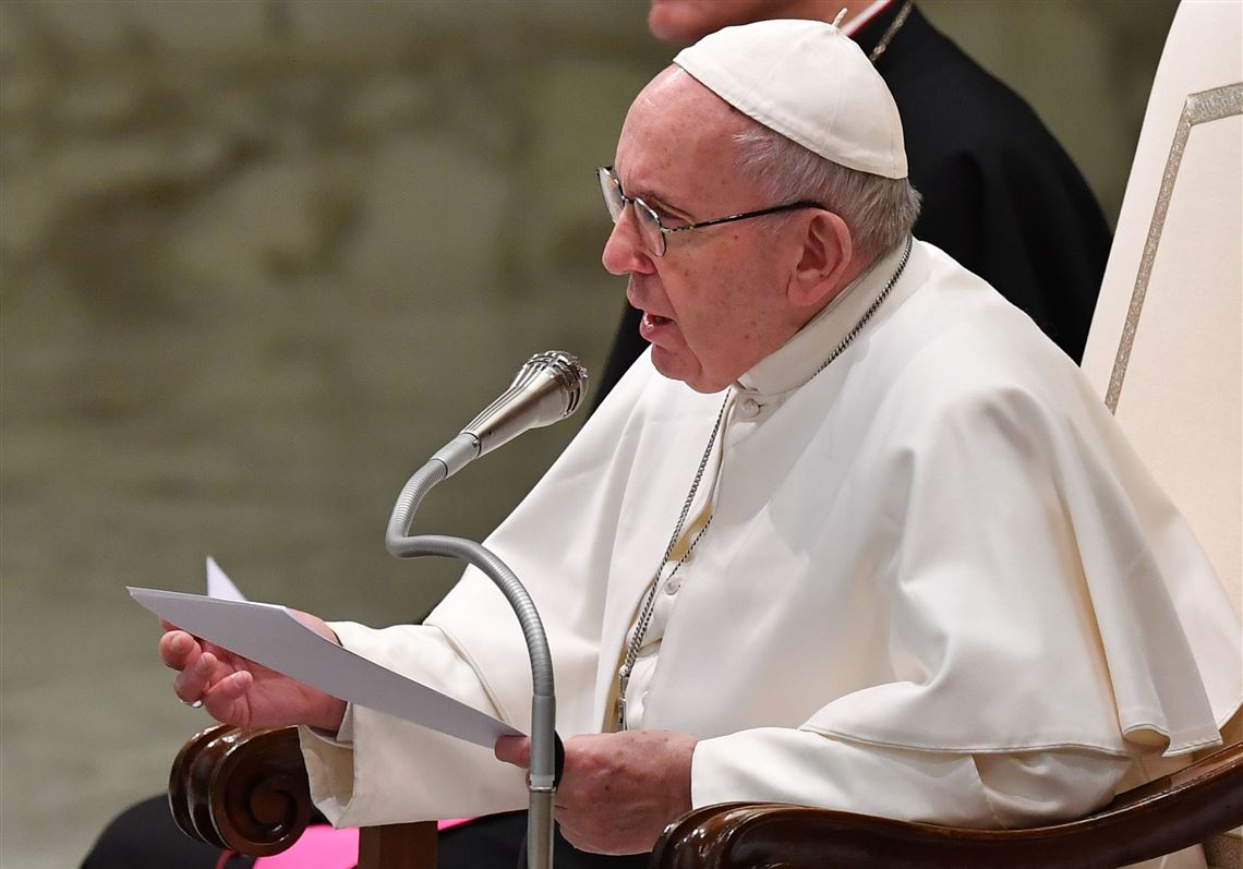 Pope Francis at his summit regarding the sexual abuse in the Catholic Church