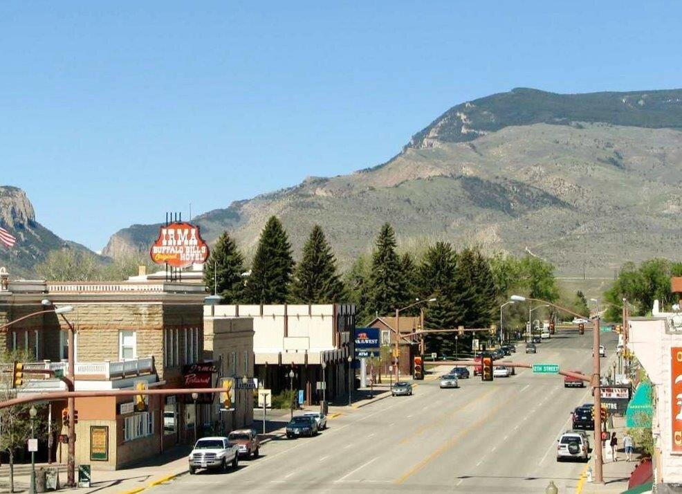 Downtown Cody, Wyoming. Source:  Cody Country Chamber of Commerce
