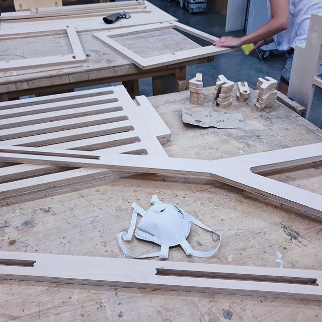 sun and sand or wood and sanding?  #newproduct #furniture #range #workshop #finishing  #design #industrialdesign #cnc #digital #manufacturing #omol #degreeshow #maid2018 #environment #home #setting #domestic