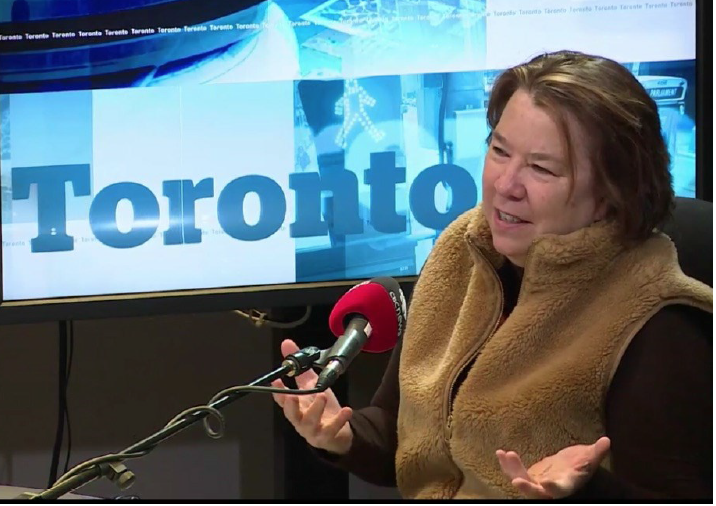 Appearing on CBC's Metro Morning with Matt Galloway, 20 April 2018