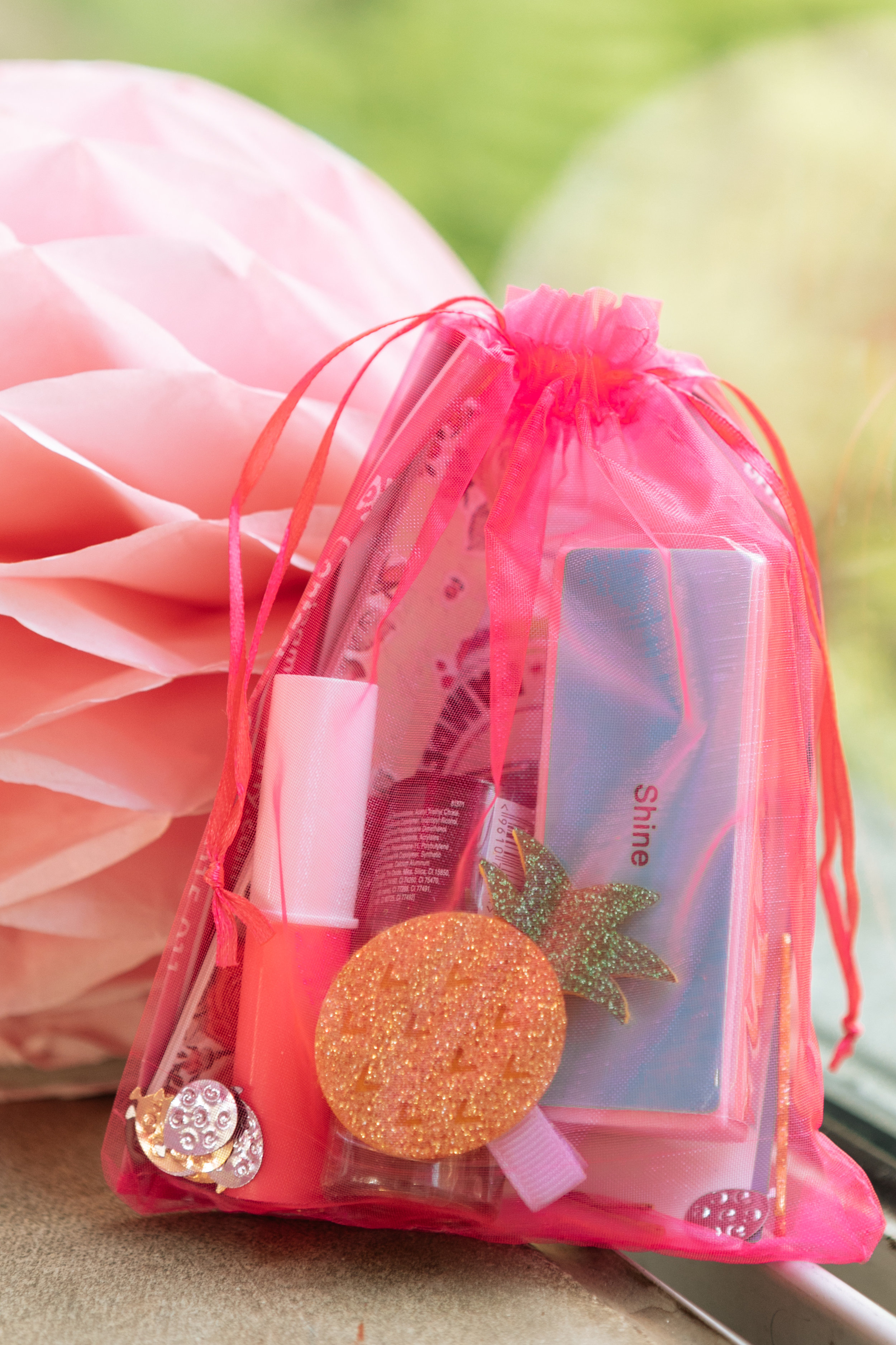 Pamper Party Bags