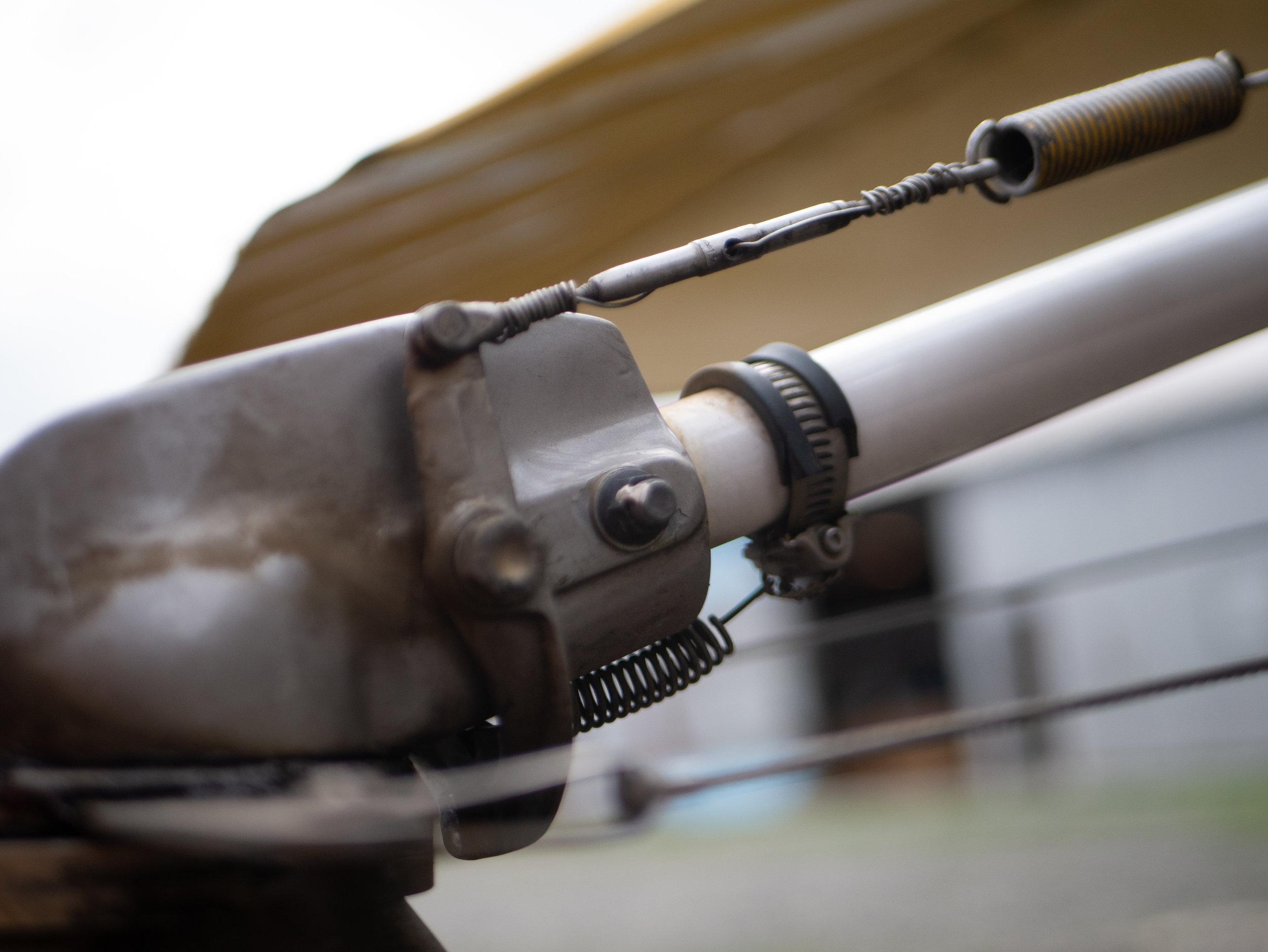 Tailwheel Lock Information -