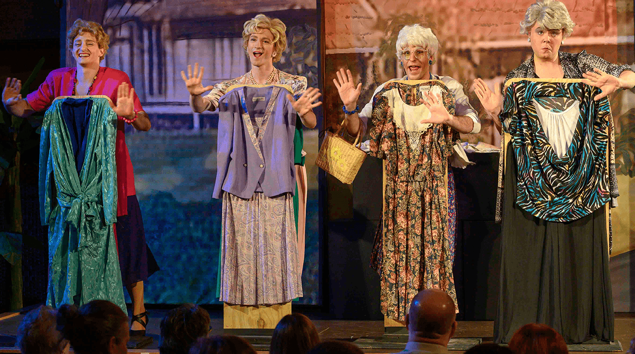 OFC Creations' production of  The Golden Girls Musical  | Photo ©2019 Samper Images