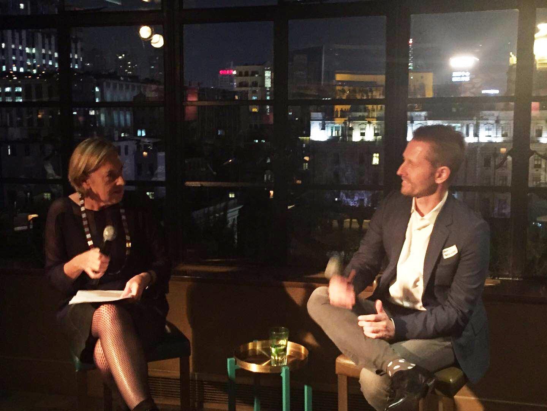 Michelle Garnaut in conversation with Chris Boshuizen