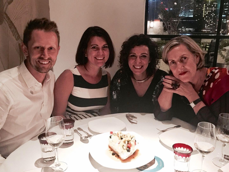 Chris Boshuizen, Stefanie Myers, Serafina Maiorano and Michelle Garnaut