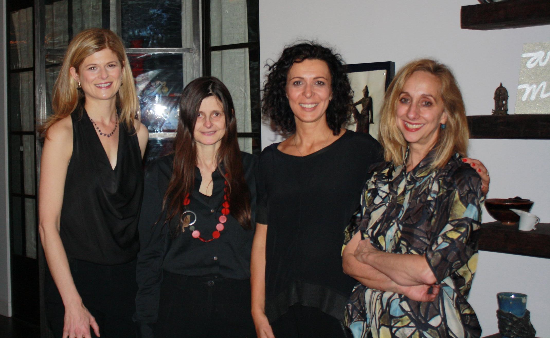 Prue Clarke, Belinda Luscombe, Serafina Maiorano and Donna Green